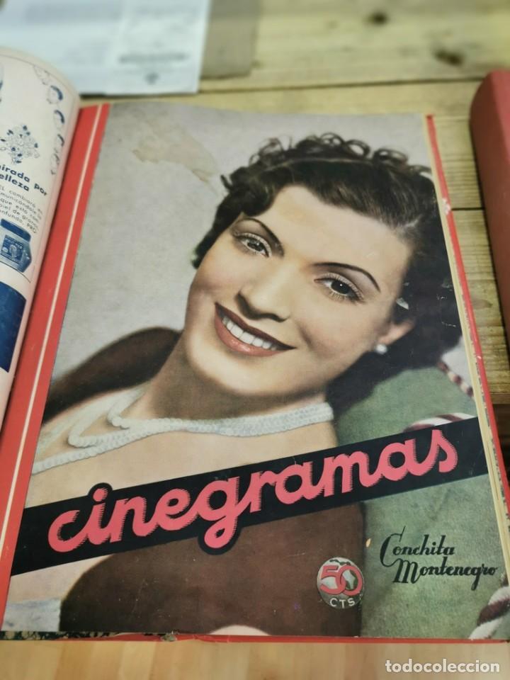 Cine: CINEGRAMAS, 1 TOMO CON 15 REVISTAS DE38/40 PÁGINAS, VER RELACION DE NUMEROS - Foto 15 - 280792628