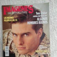 Cine: IMÁGENES DE ACTUALIDAD Nº 110, DICIEMBRE 1992 TOM CRUISE, TODO SOBRE EL DRACULA. Lote 295005988