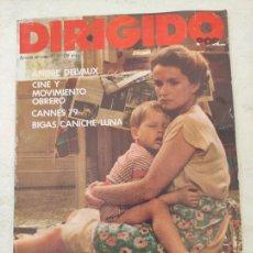 Cine: REVISTA DE CINE DIRIGIDO POR... ANDRE DELVAUX- CINE Y MOVIMIENTO OBRERO- CANNES 79-BIGAS..Nº65. Lote 280909273