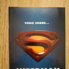 Cine: TODO SOBRE SUPERMAN . CINE Y VIDEO ACCION .SUPLEMENTO DEL N. 170. 46 PAGS.. Lote 283212703
