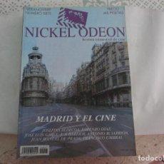 Cine: NICKEL ODEON Nº 7, 1997, MADRID Y EL CINE, 234 PAGINAS, MUCHAS FOTOS. Lote 283748418