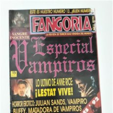 Cine: FANGORIA Nº 13. Lote 284079143