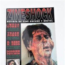Cine: ZINESHOCK Nº 5 - REVISTA DE CINE OSCURO Y BRUTAL. Lote 284099378