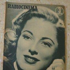 Cine: RADIOCINEMA REVISTA NÚMERO 234 ENERO 1955...ELEANOR PARKER / JIM DAVIS.... Lote 284348533