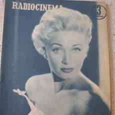 Cine: RADIOCINEMA REVISTA NÚMERO 339 ENERO 1957...JANE POWELL / ANN BLYTH.... Lote 284349138