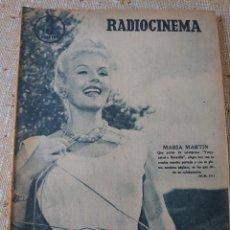 Cine: RADIOCINEMA REVISTA NÚMERO 371 AGOSTO 1957... MARÍA MARTÍN.... Lote 284350478