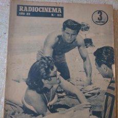 Cine: RADIOCINEMA REVISTA NÚMERO 415 JULIO 1958... HEDY LAMAR Y GEORGE NADER...MM. Lote 284350933
