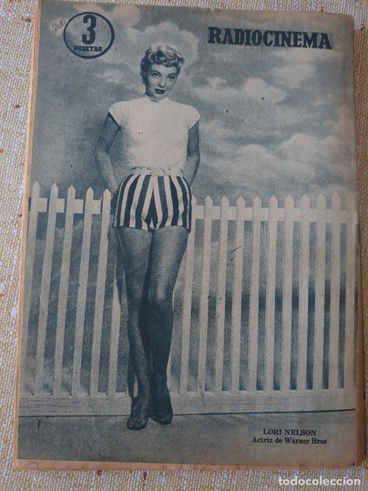 Cine: Radiocinema revista número 415 Julio 1958... Hedy Lamar y George Nader...mm - Foto 2 - 284350933