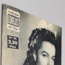 Cine: ROMY SCHNEIDER - COLECCION IDOLOS DEL CINE, AÑO II - Nº 30, 1958 MUY BUEN ESTADO. Lote 285072378