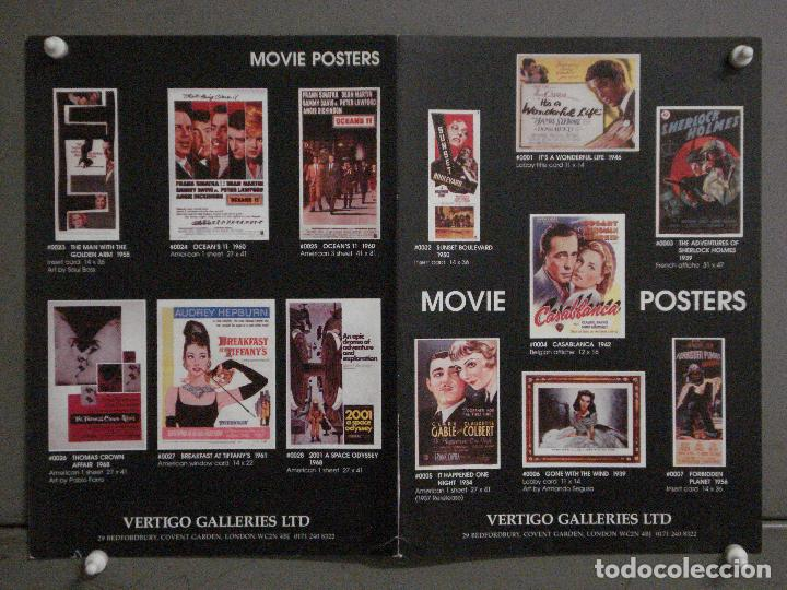 ABH56 CATALOGO POSTERS VERTIGO GALLERIES LTD MOVIE POSTERS (Cine - Revistas - Otros)