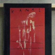 Cine: ABH57 CATALOGO POSTERS THE REEL POSTER GALLERY 3 ORIGINAL VINTAGE FILM POSTERS KANAL. Lote 285456838