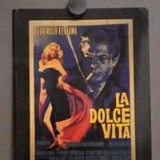 Cine: ABH59 CATALOGO POSTERS REEL POSTER GALLERY 1 ORIGINAL VINTAGE FILM POSTERS DOLCE VITA. Lote 285458058
