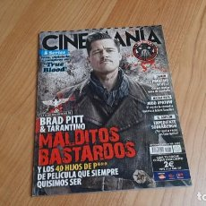 Cine: CINEMANÍA - Nº 168 - SEPTIEMBRE 2009 - BRAD PITT Y TARANTINO, KRISTEN STEWART, JOHN HUGHES, GORDOS. Lote 285560188