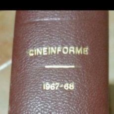 Cinéma: COLECCIÓN REVISTA CINEINFORME COMPLETA 1967-68. Lote 285800938