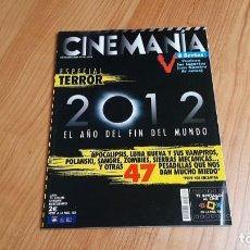 Cine: CINEMANÍA - Nº 170 - NOVIEMBRE 2009 - ESPECIAL TERROR, POLANSKI, ZOMBIES, KEN LOACH, MICHAEL MOORE. Lote 285971653