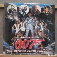 Cine: K013 CALENDARIO OFICIAL 007 JAMES BOND 2000. Lote 286143033