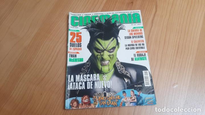 CINEMANÍA - Nº 118 - JULIO 2005 - MASCARA, EWAN MCGREGOR, PRINCESAS, ERNESTO ALTERIO, ANA FERNÁNDEZ (Cine - Revistas - Cinemanía)