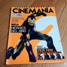 Cine: CINEMANÍA - Nº 148 - ENERO 2008 - HÉROES DEL AÑO, INDIANA JONES, BATMAN, FERNANDO FERNÁN GÓMEZ. Lote 286692328