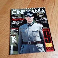 Cine: CINEMANÍA - Nº 157 - OCTUBRE 2008 - TOM CRUISE, ESPECIAL DESTAPE AÑOS DEL DESNUDO, ELSA PATAKY, 007. Lote 286693493