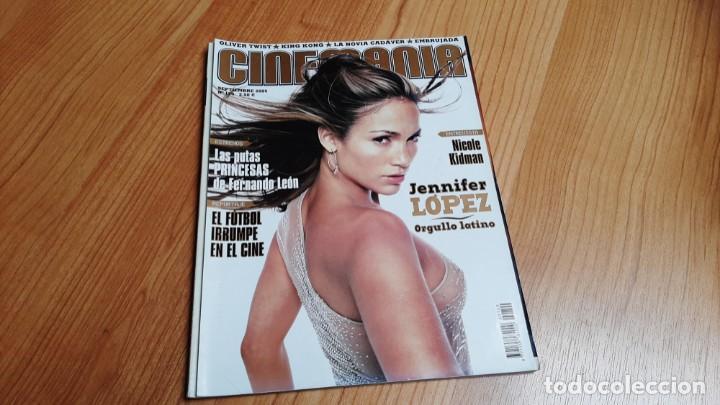 CINEMANÍA - Nº 120 - SEPTIEMBRE 2005 - JENNIFER LÓPEZ, NICOLE KIDMAN, FÚTBOL Y CINE, CANDELA PEÑA (Cine - Revistas - Cinemanía)