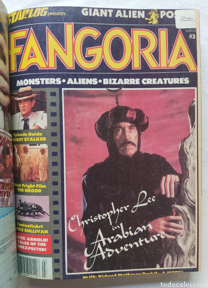 Cine: FANGORIA MAGAZINE STARLOG HORROR MONSTER ALIEN BIZARRE CREATURE ORIGINAL 1980 - Foto 4 - 287084468