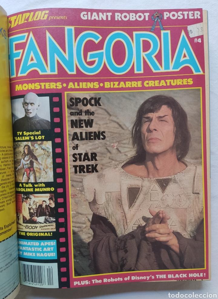 Cine: FANGORIA MAGAZINE STARLOG HORROR MONSTER ALIEN BIZARRE CREATURE ORIGINAL 1980 - Foto 5 - 287084468