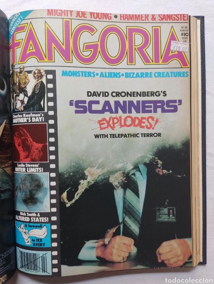 Cine: FANGORIA MAGAZINE STARLOG HORROR MONSTER ALIEN BIZARRE CREATURE ORIGINAL 1980 - Foto 12 - 287084468