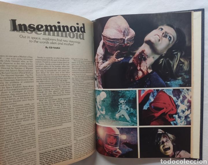 Cine: FANGORIA MAGAZINE STARLOG HORROR MONSTER ALIEN BIZARRE CREATURE ORIGINAL 1980 - Foto 17 - 287084468