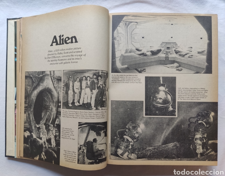 Cine: FANGORIA MAGAZINE STARLOG HORROR MONSTER ALIEN BIZARRE CREATURE ORIGINAL 1980 - Foto 20 - 287084468