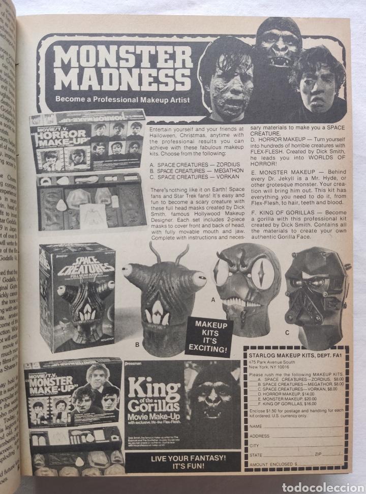 Cine: FANGORIA MAGAZINE STARLOG HORROR MONSTER ALIEN BIZARRE CREATURE ORIGINAL 1980 - Foto 21 - 287084468