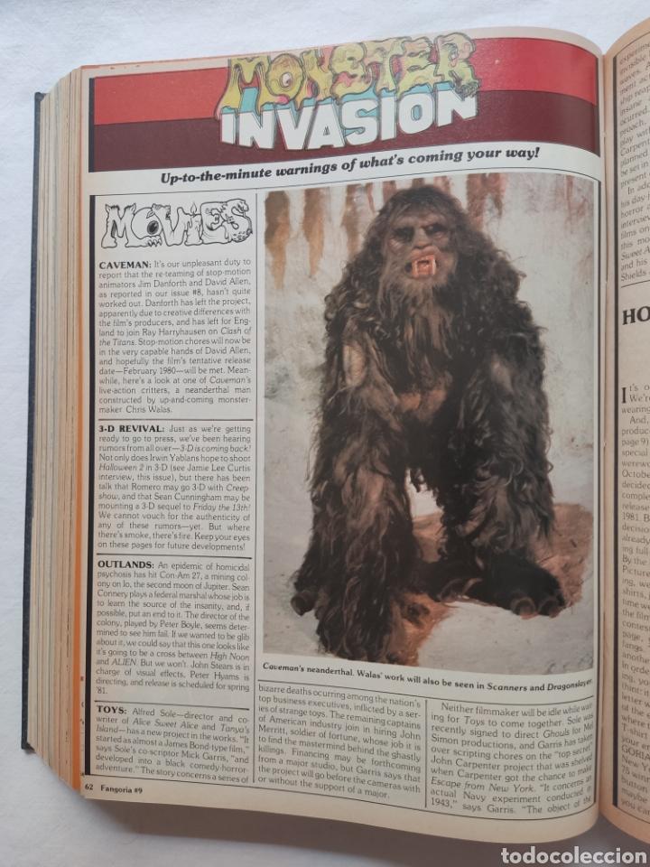 Cine: FANGORIA MAGAZINE STARLOG HORROR MONSTER ALIEN BIZARRE CREATURE ORIGINAL 1980 - Foto 25 - 287084468