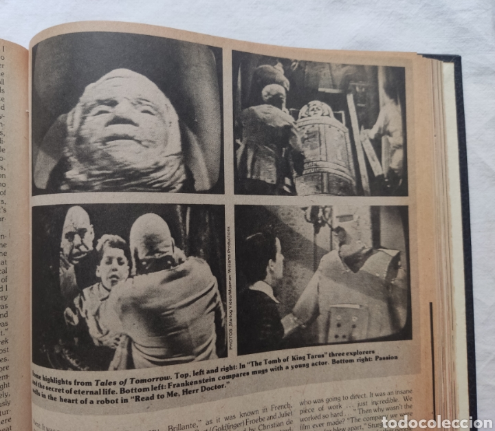 Cine: FANGORIA MAGAZINE STARLOG HORROR MONSTER ALIEN BIZARRE CREATURE ORIGINAL 1980 - Foto 26 - 287084468