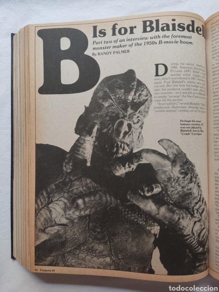 Cine: FANGORIA MAGAZINE STARLOG HORROR MONSTER ALIEN BIZARRE CREATURE ORIGINAL 1980 - Foto 29 - 287084468