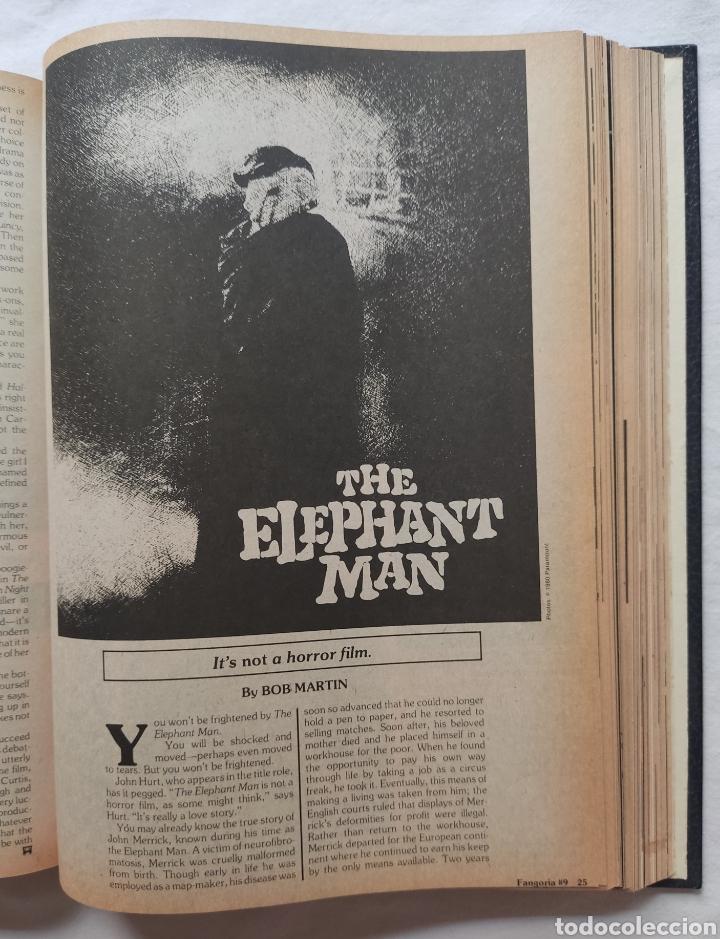 Cine: FANGORIA MAGAZINE STARLOG HORROR MONSTER ALIEN BIZARRE CREATURE ORIGINAL 1980 - Foto 33 - 287084468