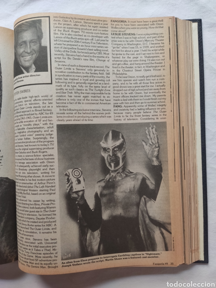 Cine: FANGORIA MAGAZINE STARLOG HORROR MONSTER ALIEN BIZARRE CREATURE ORIGINAL 1980 - Foto 35 - 287084468