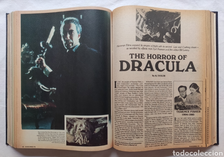 Cine: FANGORIA MAGAZINE STARLOG HORROR MONSTER ALIEN BIZARRE CREATURE ORIGINAL 1980 - Foto 38 - 287084468