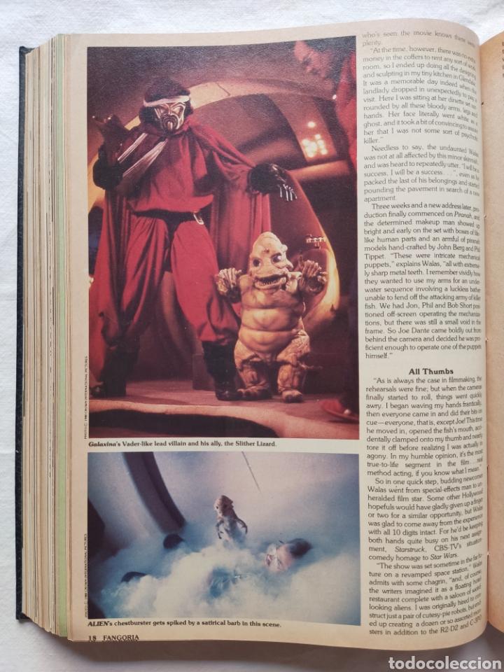 Cine: FANGORIA MAGAZINE STARLOG HORROR MONSTER ALIEN BIZARRE CREATURE ORIGINAL 1980 - Foto 40 - 287084468