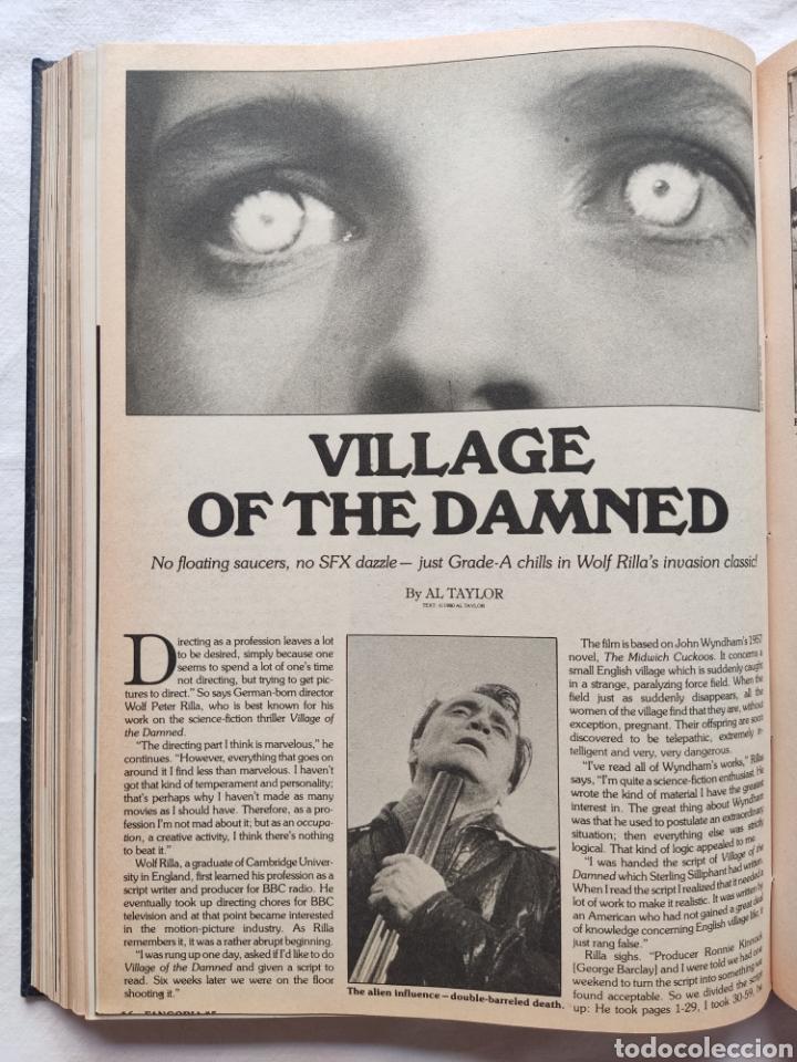 Cine: FANGORIA MAGAZINE STARLOG HORROR MONSTER ALIEN BIZARRE CREATURE ORIGINAL 1980 - Foto 45 - 287084468