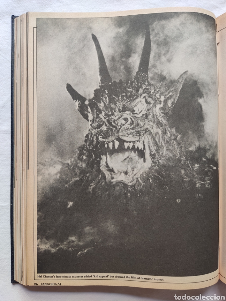 Cine: FANGORIA MAGAZINE STARLOG HORROR MONSTER ALIEN BIZARRE CREATURE ORIGINAL 1980 - Foto 49 - 287084468