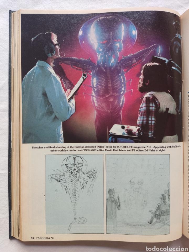 Cine: FANGORIA MAGAZINE STARLOG HORROR MONSTER ALIEN BIZARRE CREATURE ORIGINAL 1980 - Foto 50 - 287084468
