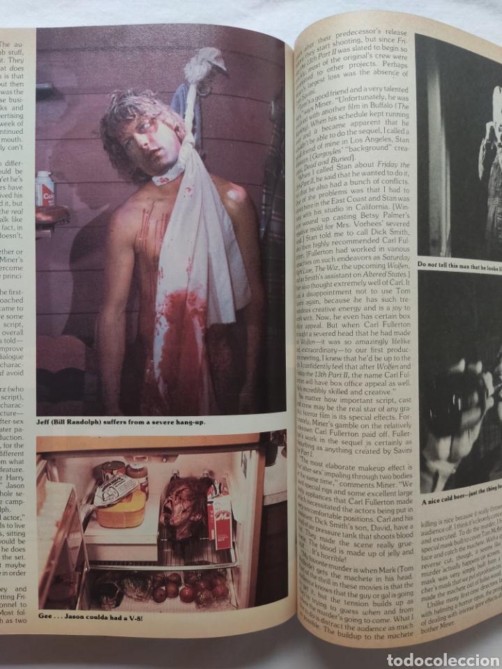 Cine: FANGORIA MAGAZINE STARLOG HORROR MONSTER ALIEN BIZARRE CREATURE ORIGINAL 1980 - Foto 60 - 287084468