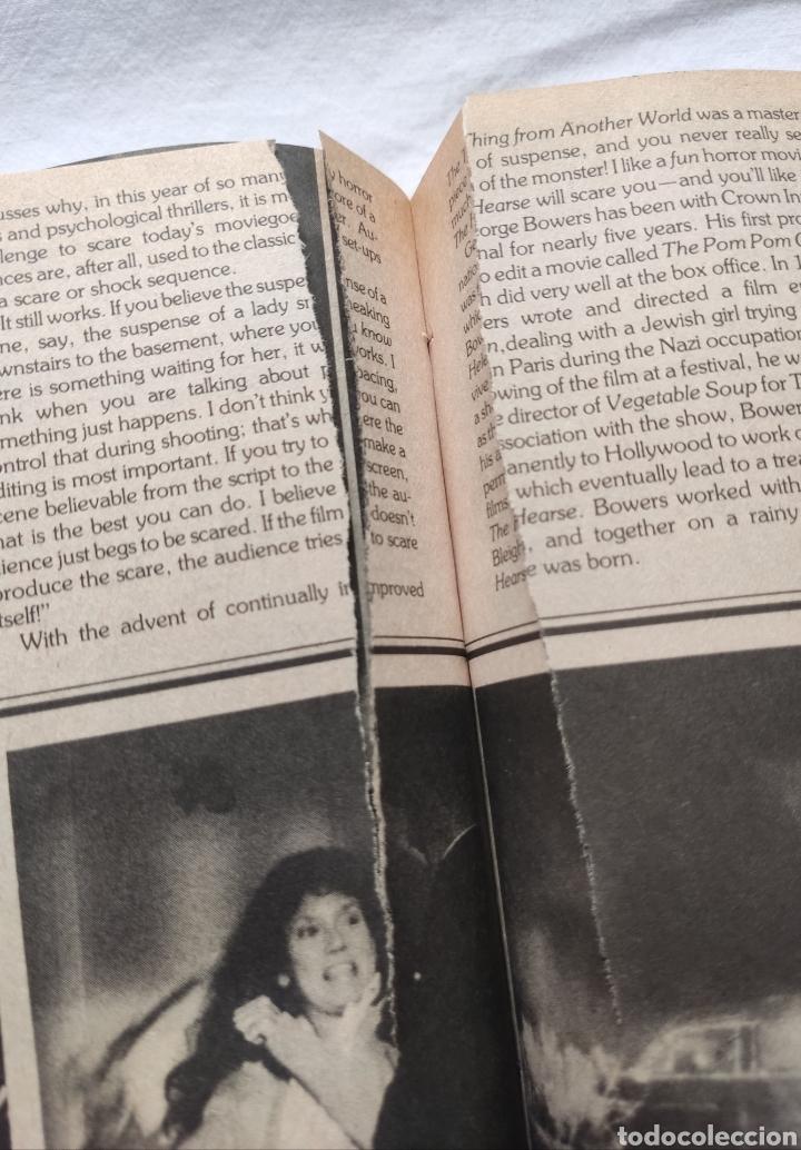 Cine: FANGORIA MAGAZINE STARLOG HORROR MONSTER ALIEN BIZARRE CREATURE ORIGINAL 1980 - Foto 64 - 287084468