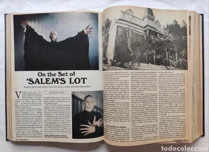 Cine: FANGORIA MAGAZINE STARLOG HORROR MONSTER ALIEN BIZARRE CREATURE ORIGINAL 1980 - Foto 69 - 287084468