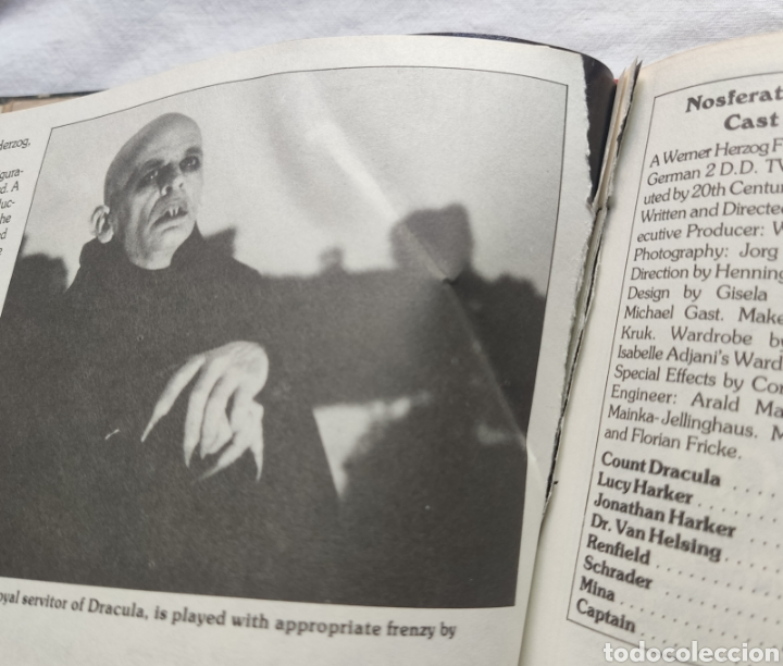 Cine: FANGORIA MAGAZINE STARLOG HORROR MONSTER ALIEN BIZARRE CREATURE ORIGINAL 1980 - Foto 70 - 287084468