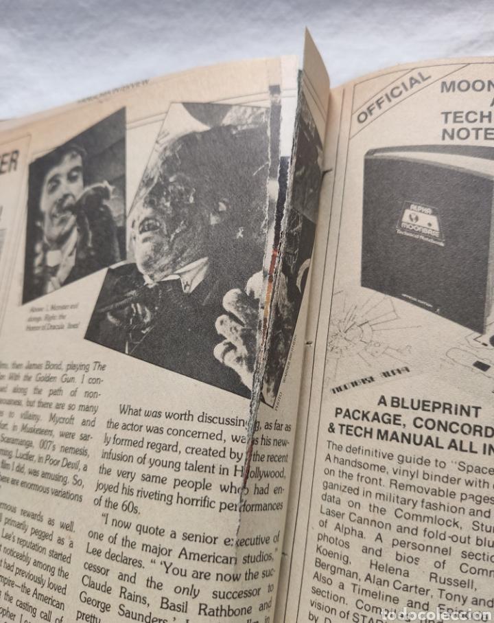 Cine: FANGORIA MAGAZINE STARLOG HORROR MONSTER ALIEN BIZARRE CREATURE ORIGINAL 1980 - Foto 74 - 287084468