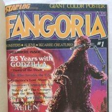 Cine: FANGORIA MAGAZINE STARLOG HORROR MONSTER ALIEN BIZARRE CREATURE ORIGINAL 1980. Lote 287084468