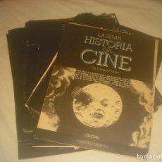 Cine: LA GRAN HISTORIA DEL CINE. TERENCI MOIX, LOTE DE 40 CAPITULOS.. Lote 287384538