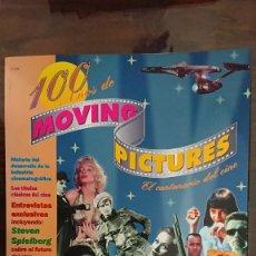 Cine: 100 AÑOS DE MOVING PICTURES - EL CENTENARIO DEL CINE - REVISTA OFICIAL DE RECUERDO 1895-1995. Lote 287466168