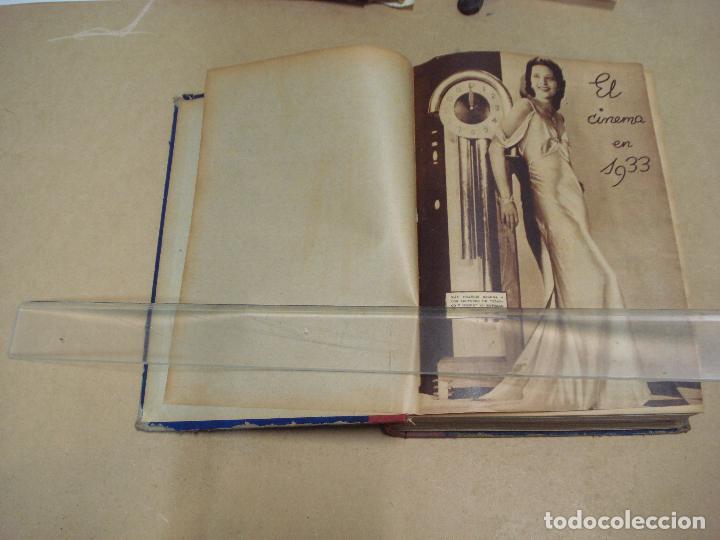 CINEMA REVISTA ENCUADERNADA 1930S (Cine - Revistas - Cinema)