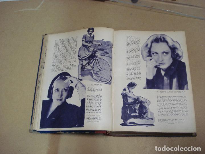 Cine: CINEMA REVISTA ENCUADERNADA 1930s - Foto 3 - 287541148